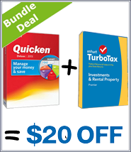 TurboTax Quicken Bundle Discount 2016